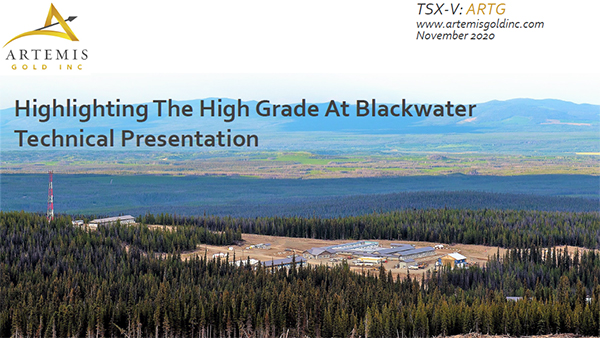 Highlighting the High Grade at Blackwater Technical Presentation